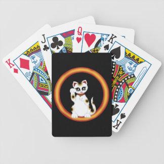 Maneki Neko Bicycle Playing Cards