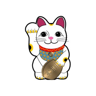 Maneki Neko card