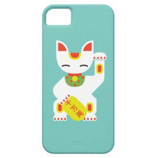 Maneki Neko - caso afortunado japonés del iPhone 5 Funda Para iPhone SE/5/5s