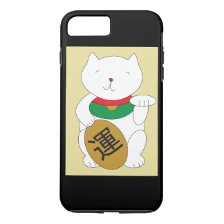 Maneki Neko Cat Luck and Good Fortune iPhone 8 Plus/7 Plus Case