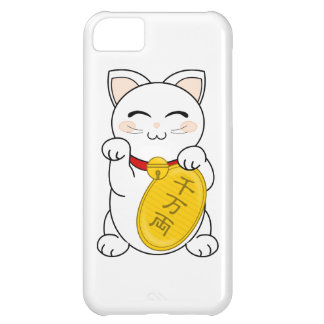 Maneki Neko - gato de la buena fortuna Carcasa iPhone 5C