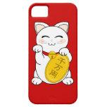 Maneki Neko - gato de la buena fortuna iPhone 5 Protector