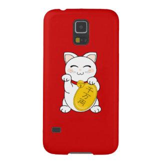 Maneki Neko - gato de la buena fortuna Carcasa Para Galaxy S5