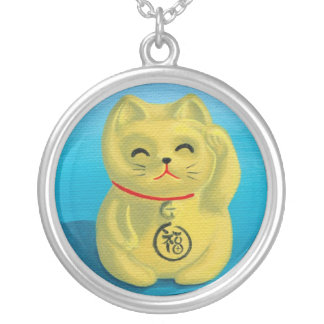 Maneki Neko Happy Cat Necklace