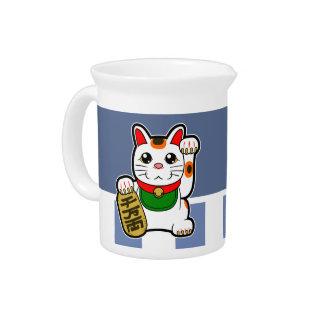 Maneki Neko: Japanese Lucky Cat Pitcher
