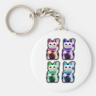 Maneki Neko JAPANESE money CAT Keychain