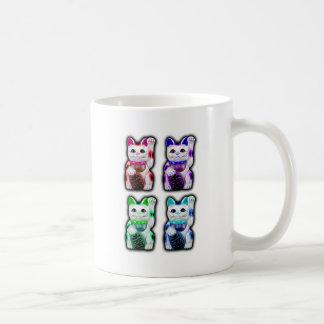 Maneki Neko JAPANESE money CAT Classic White Coffee Mug