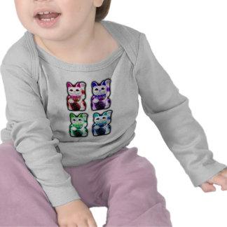 Maneki Neko JAPANESE money CAT T-shirt