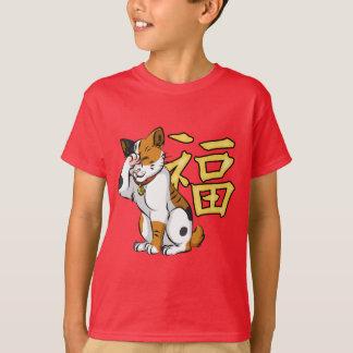Maneki Neko Kids' Hanes TAGLESS® T-Shirt