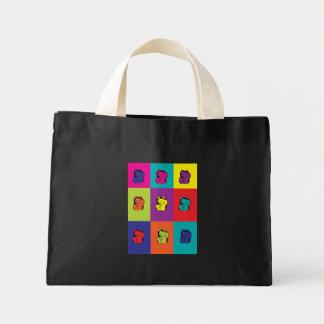 Maneki Neko Kitty Pop Art Bag