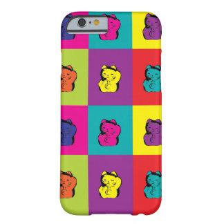 Maneki Neko Kitty Pop Art Barely There iPhone 6 Case