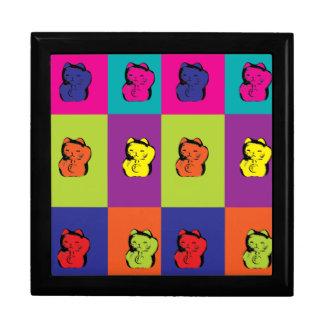 Maneki Neko Kitty Pop Art giftbox Jewelry Boxes
