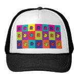 Maneki Neko Kitty Pop Art Hat