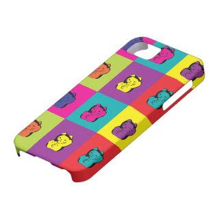 Maneki Neko Kitty Pop Art iPhone SE/5/5s Case