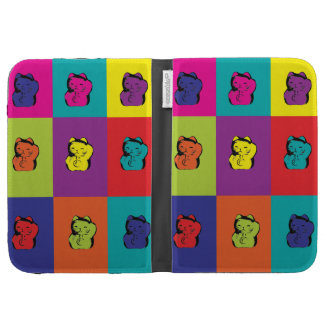 Maneki Neko Kitty Pop Art Kindle Cases