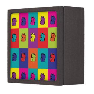Maneki Neko Kitty Pop Art Premium Trinket Boxes