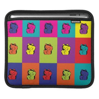 Maneki Neko Kitty Pop Art Sleeve For iPads