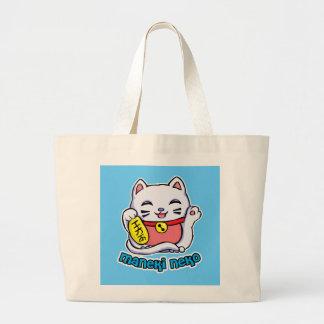 Maneki Neko Lucky cat Bag