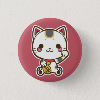Maneki Neko (Lucky Cat) Button