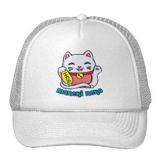 Maneki Neko Lucky cat hat