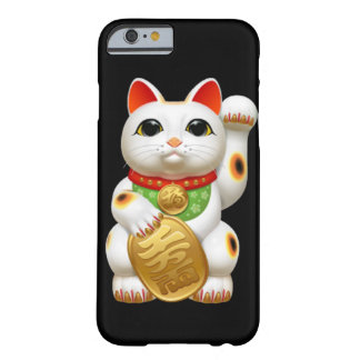 maneki-neko lucky cat japanese charm talisman welc barely there iPhone 6 case