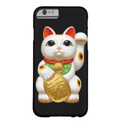 maneki-neko lucky cat japanese charm talisman welc iPhone 6 case