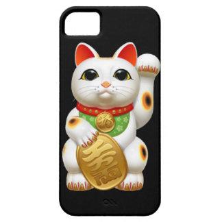 maneki-neko lucky cat japanese charm talisman welc iPhone 5 cover
