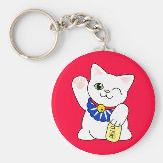 Maneki Neko Lucky Cat Key Chain