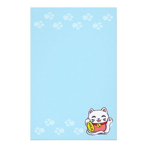 Maneki Neko Lucky cat Stationery