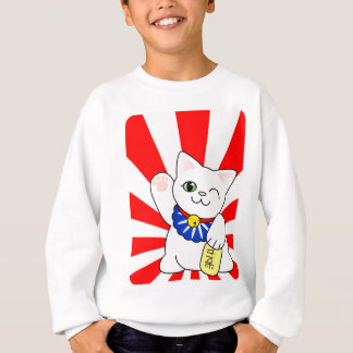 Maneki Neko Lucky Cat Sweatshirt