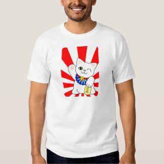 Maneki Neko Lucky Cat Tee Shirt