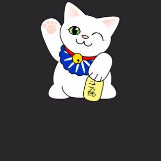 Maneki Neko Lucky Cat shirt