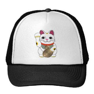 Maneki Neko Mesh Hats