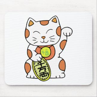 Maneki Neko Mousepads
