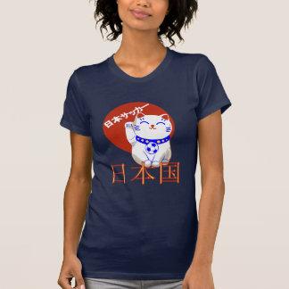 Maneki Neko Nihon saaka cat Tee Shirt