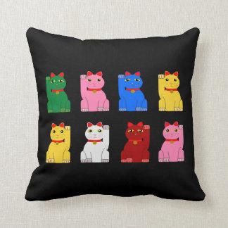 maneki neko pillows