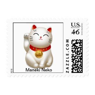 Maneki Neko Stamp