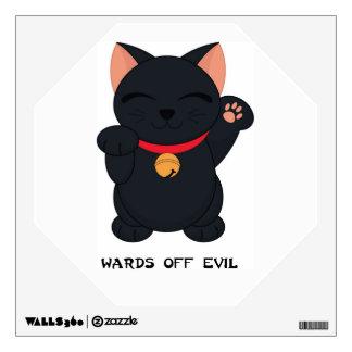 Maneki Neko Wards Off Evil Cat  - SRF Wall Skins