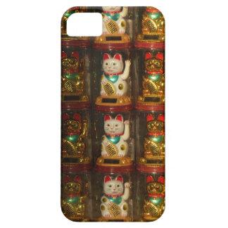 Maneki-neko, Winke-Glueckskatzen, Winkekatze Funda Para iPhone SE/5/5s