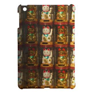 Maneki-neko, Winke-Glueckskatzen, Winkekatze iPad Mini Cover