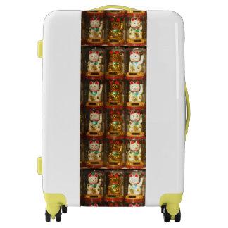 Maneki-neko, Winke-Glueckskatzen, Winkekatze Luggage