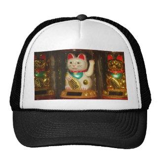 Maneki-neko, Winke-Glueckskatzen, Winkekatze Trucker Hat