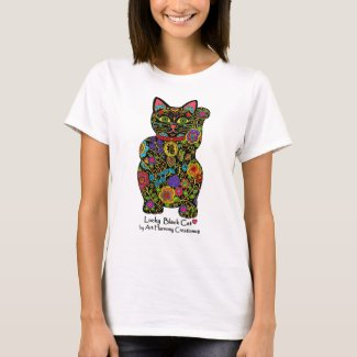 Maneki Neko Woman's T-Shirt