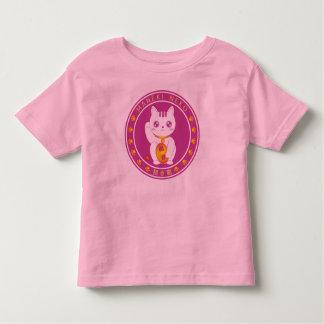 "Manekineko (Japanese Luck cat) ""Toddler T-shirts """