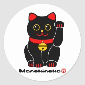 Manekineko幸運な猫 sticker