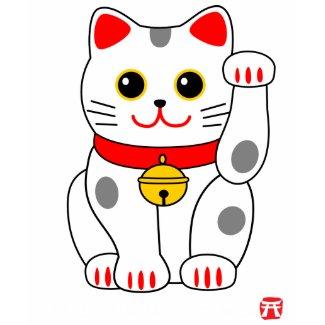 Manekineko幸運な猫 shirt