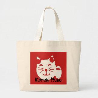manekineko, Maneki Neko Jumbo Tote Bag