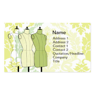 Manequins - Business Double-Sided Standard Business Cards (Pack Of 100)