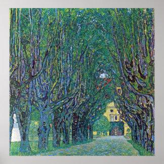 Manera al parque de Gustavo Klimt Impresiones