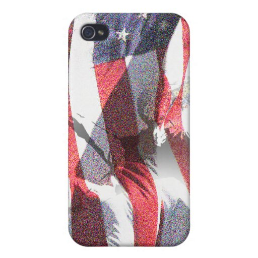 Manera americana iPhone 4 carcasa